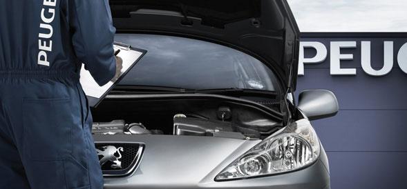 Peugeot-Servicing